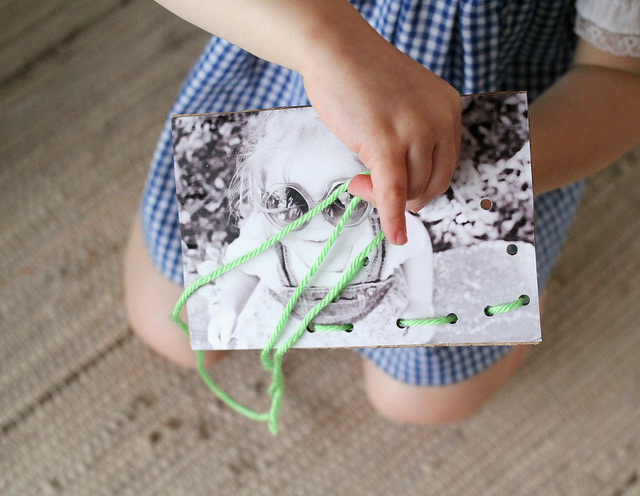 How-To: DIY Lacing Cards