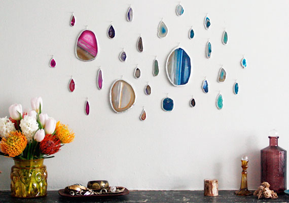 How-To: Agate Slice Wall Art