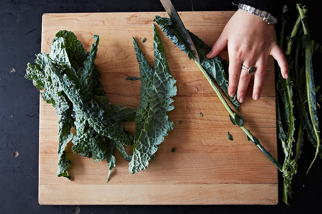 How-To: Use Kale Stems