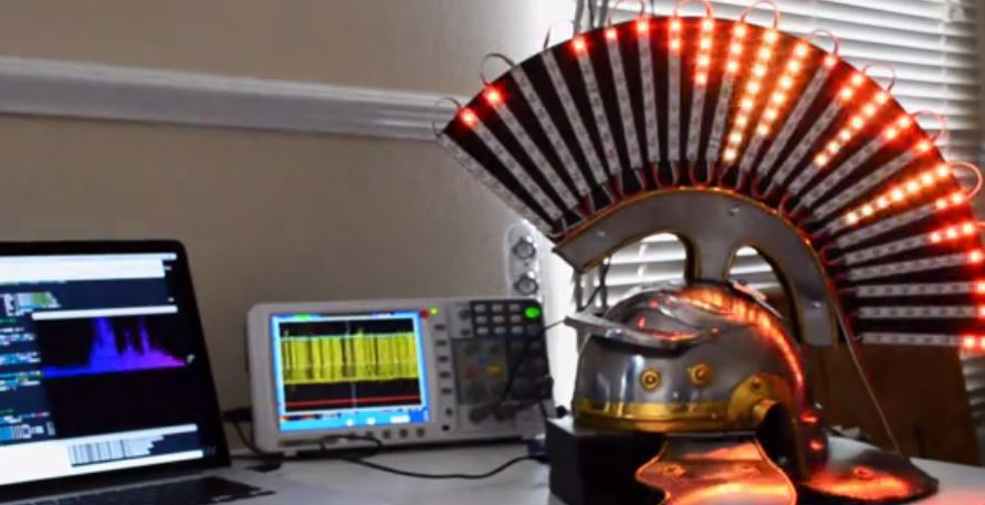 The Centurion Project: LED Helmet