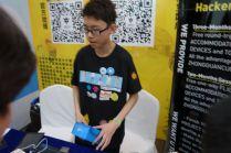 Beijing Makerspace had an exhibit.