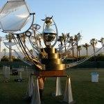 Orion Fredericks brought his Fata Morgana orrery to Maker Faire Bay Area.