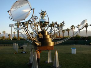 Orion Fredericks brought his Fata Morgana orrery to Maker Faire Bay Area.