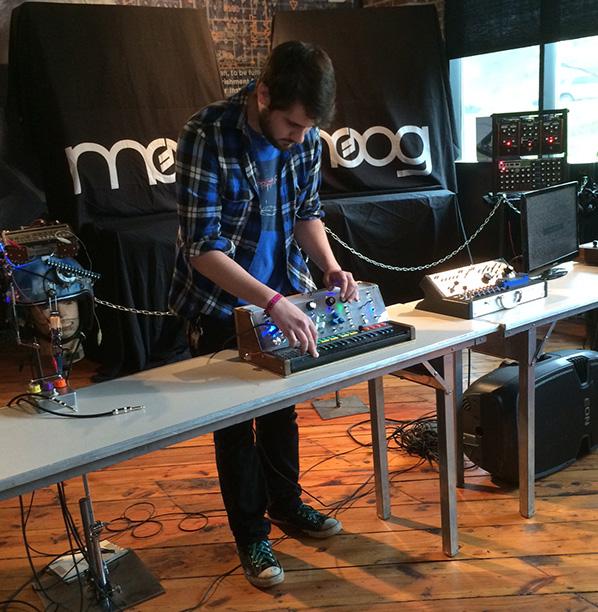 Circuit Bending Winner Chases the Spirit of Moog