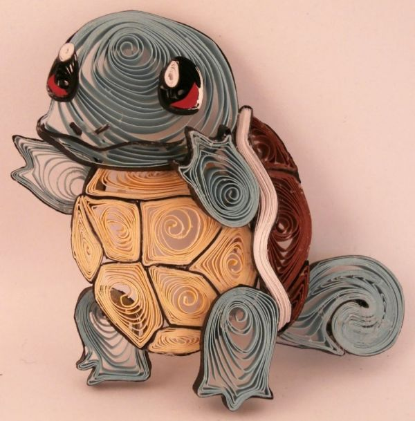 Quilled Paper Pokémon Characters