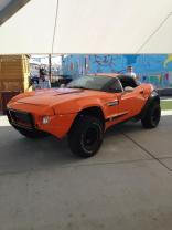The Local Motors Rally Fighter was on display, and always had a crowd.