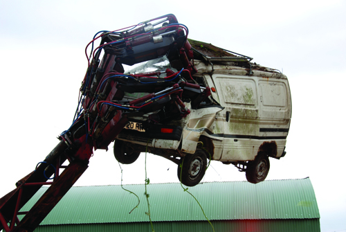 Go to Maker Faire UK, but don't let them crush your car