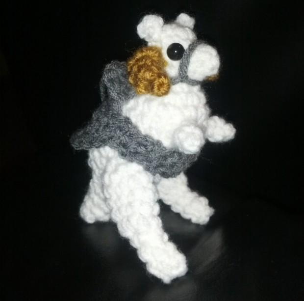 Crochet Amigurumi Stuffed Tauntaun