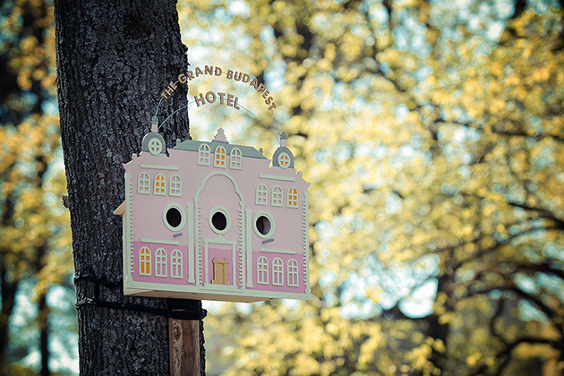 The Tiny Grand Budapest Hotel Birdhouse