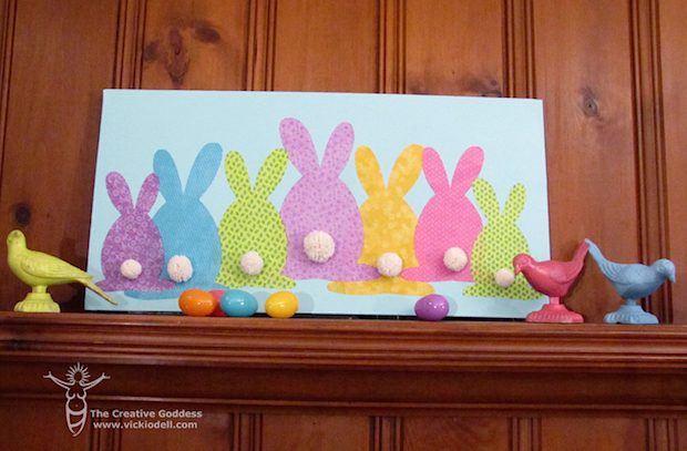How-To: Easter Bunny Canvas