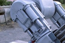 Building Up to Maker Faire, Shawn Thorsson Brings ED-209 to Life: Part 6 — Assembly and Painting