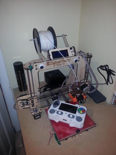 Here is the printer used to create the case.