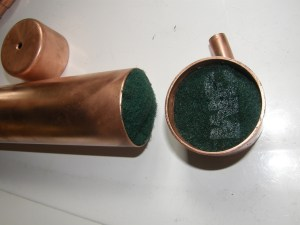 First-stage Nozzle Packing — ScotchBrite Disks