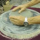 Hand Grinding a Telescope Mirror