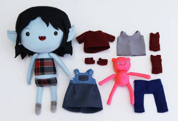 Adventure Time Plush Dress Up Dolls