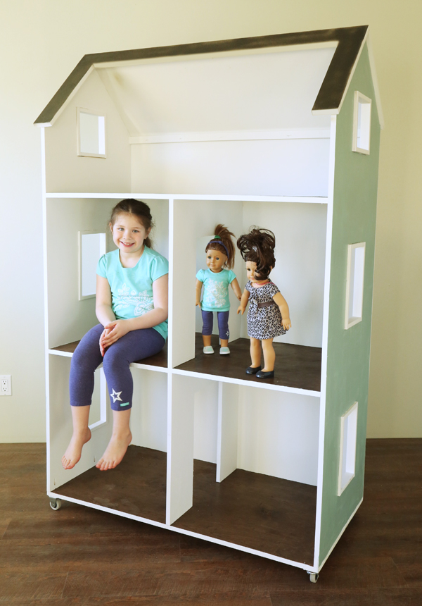 How-To: Build a REALLY Big Dollhouse