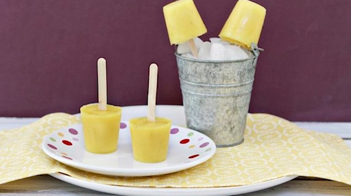 Pineapple Banana Pops