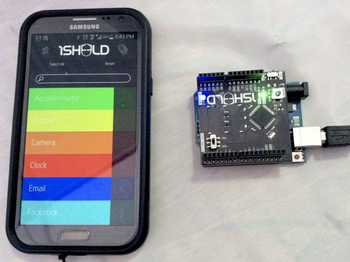 Arduino Prototyping with your Android Phone