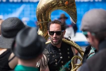 Mission Delirium melts some faces with super danceable brass-band sounds.