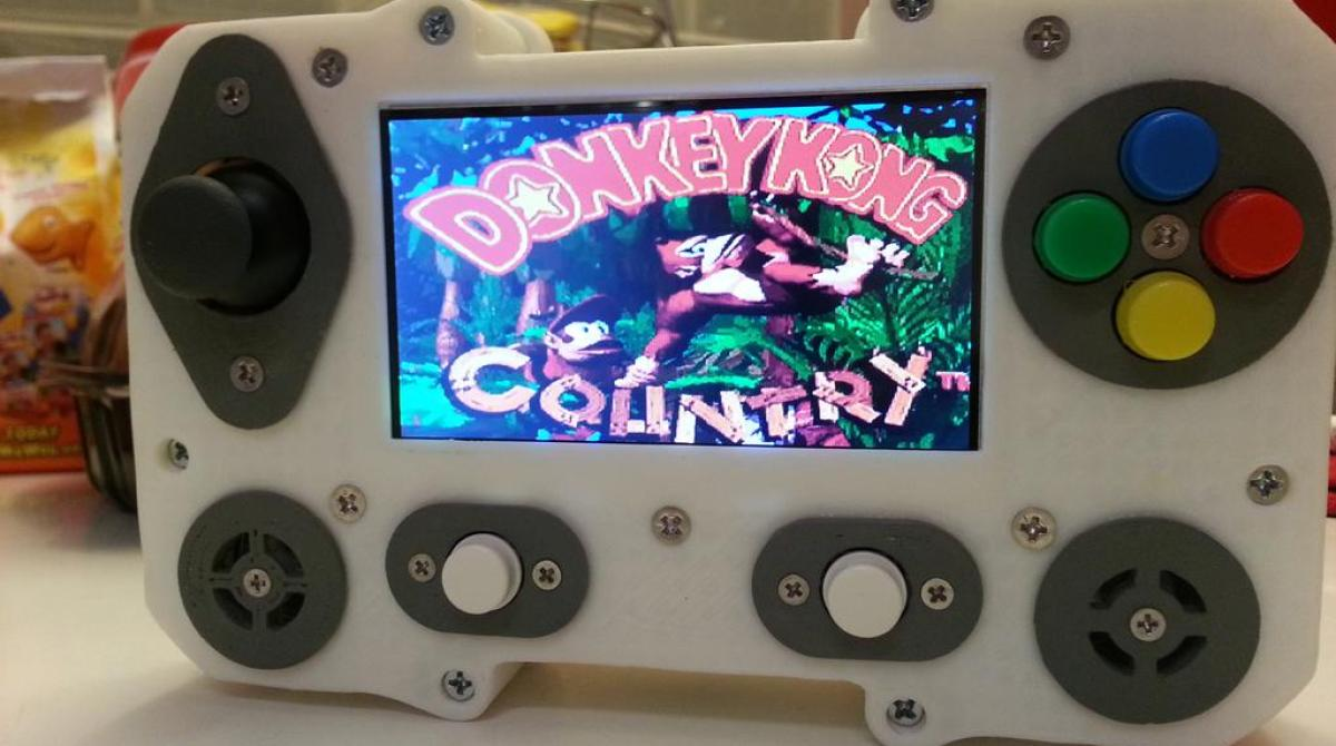 Portaberry Pi: A 3D-Printed Raspberry Pi Portable Gaming System