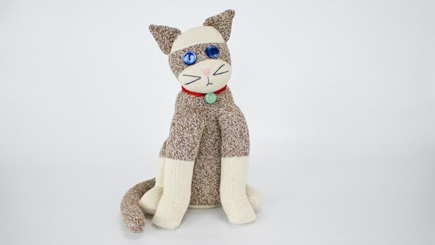 How-To: Sew a Sock Cat