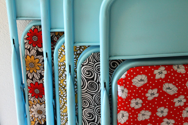 How-To: Folding Chair Makeover