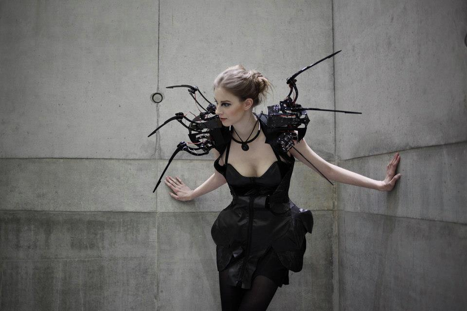 The Electrifying Designs of Anouk Wipprecht