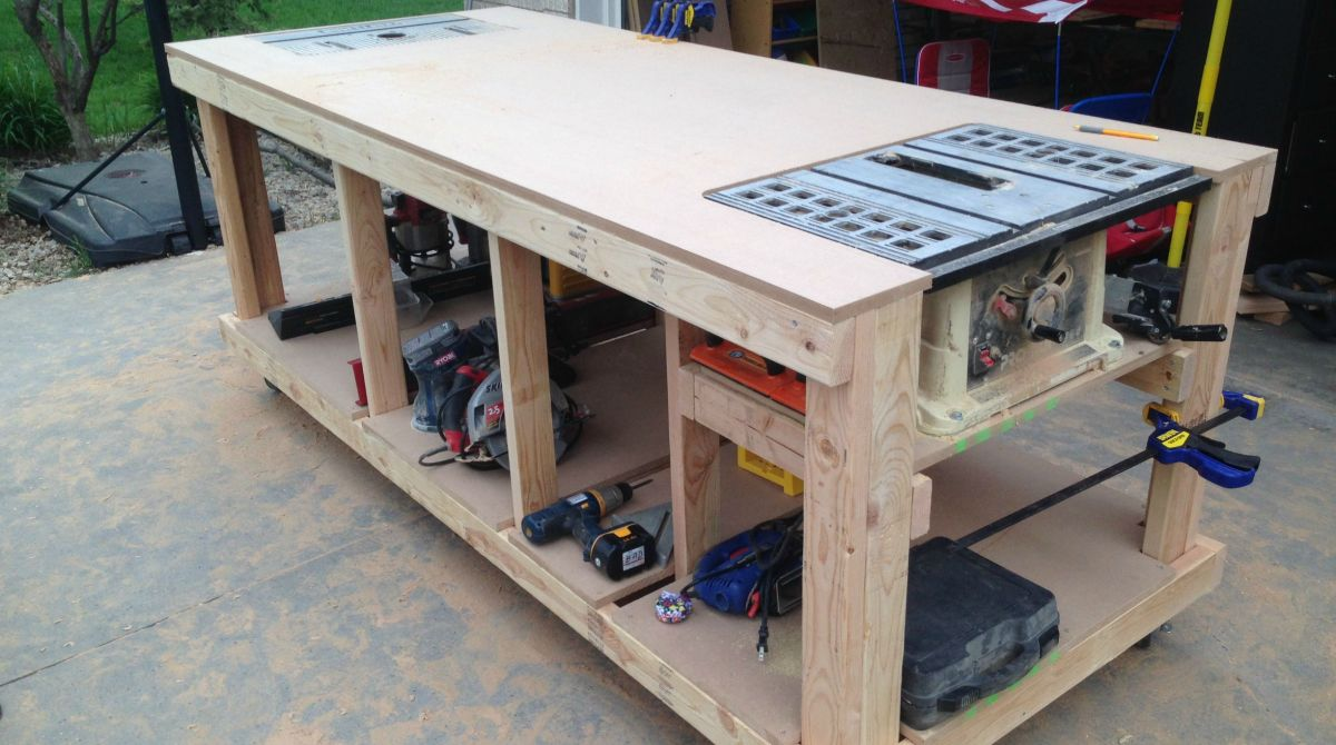 Building your own wooden workbench make article featured image greentooth Choice Image