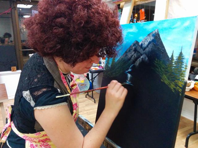 Bob Ross Paint Along Workshops