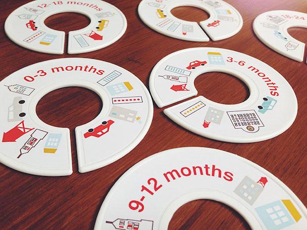 Baby Inspiration: Nursery Closet Organizers