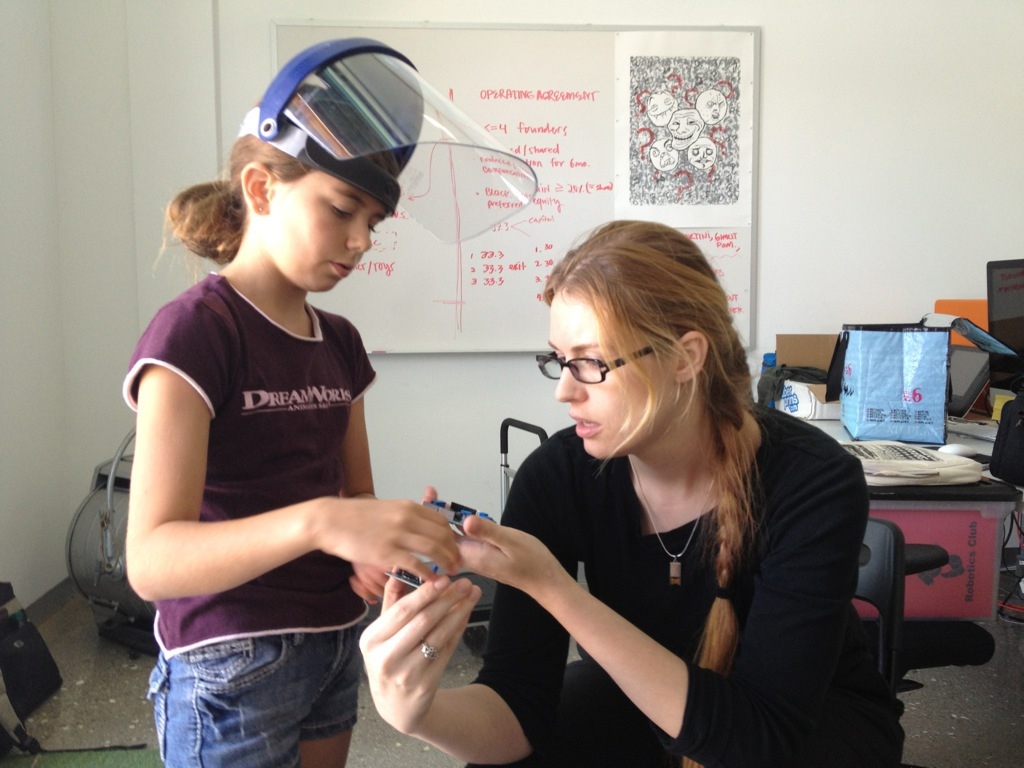 Soldering a Connection — The Start of a Mentoring Relationship