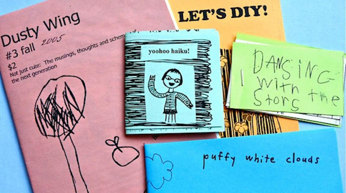 Flashback: Zine-Making for Kids