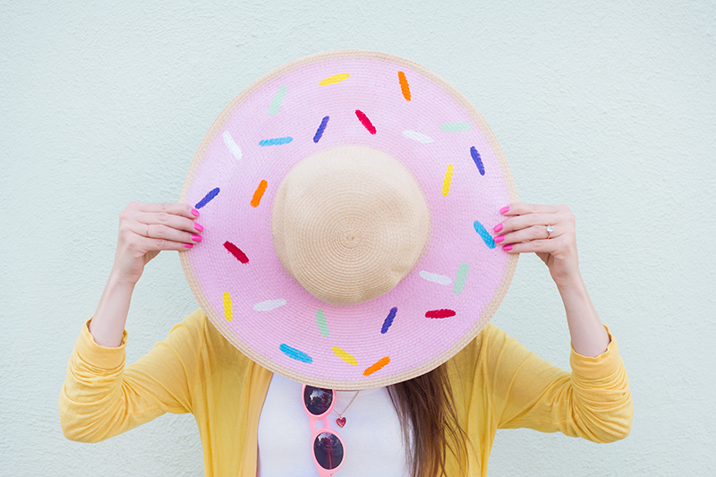 How-To: Donut Floppy Hat
