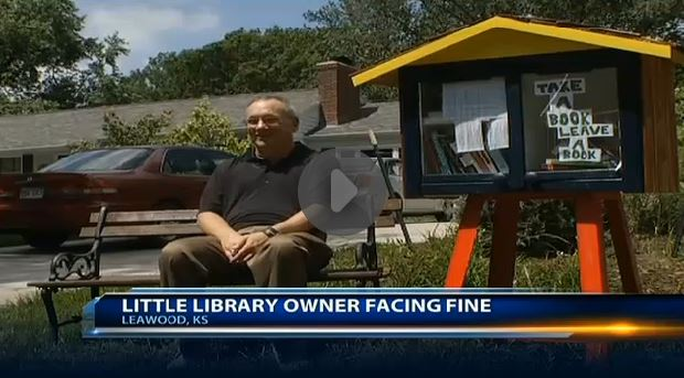 Are Little Free Libraries Illegal?