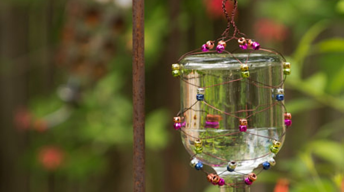 How-To: Tequila Bottle Hummingbird Feeder