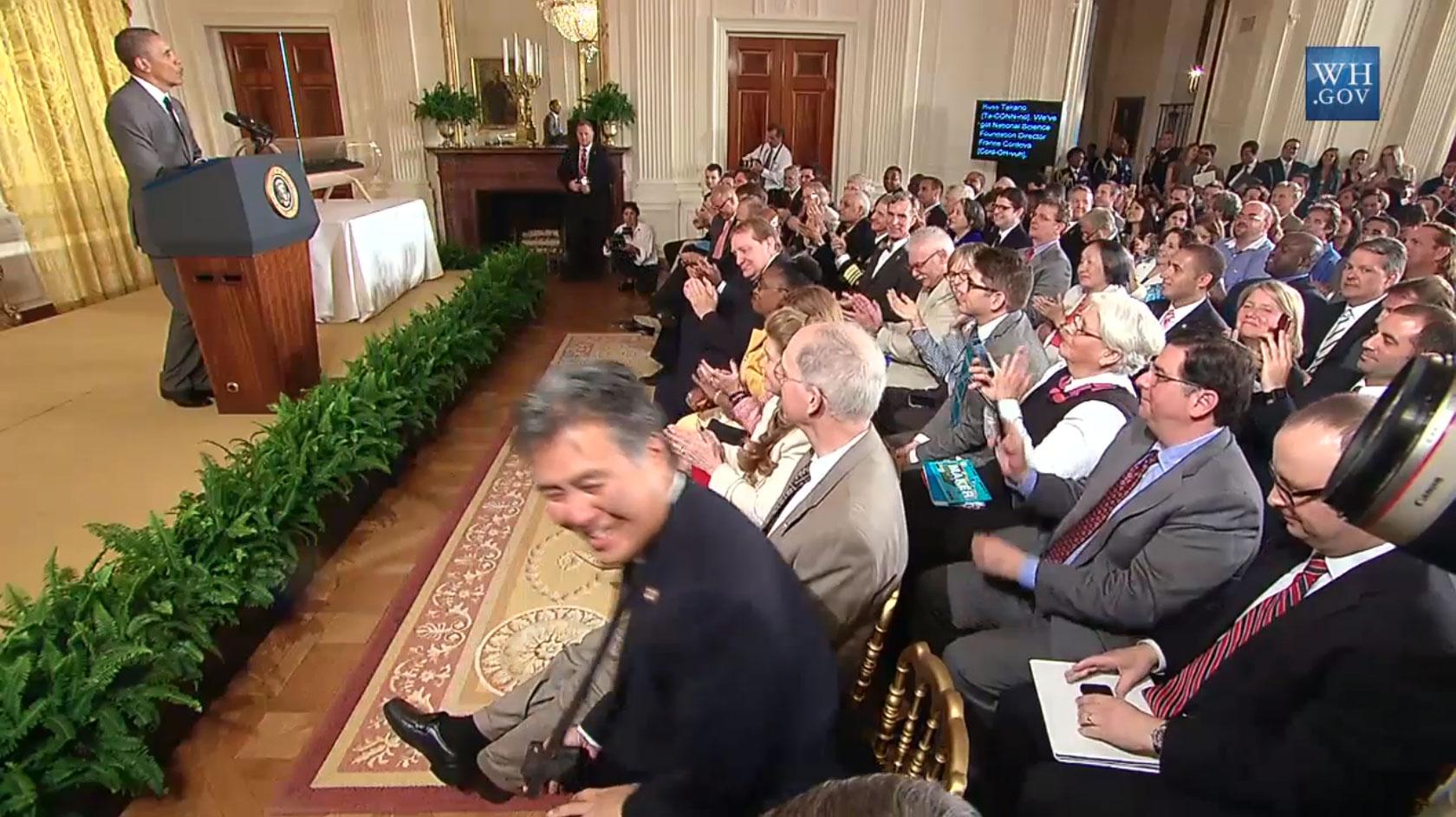 The President's Address at the White House Maker Faire