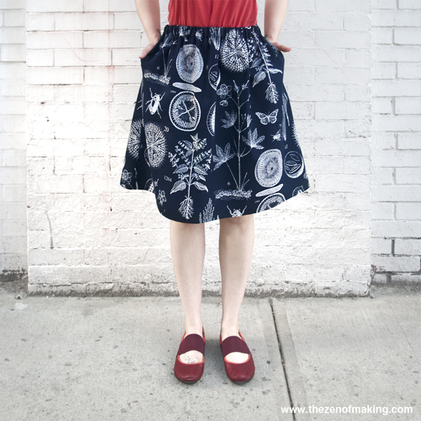 How-To: Perfect Summer Skirt (with Pockets!)