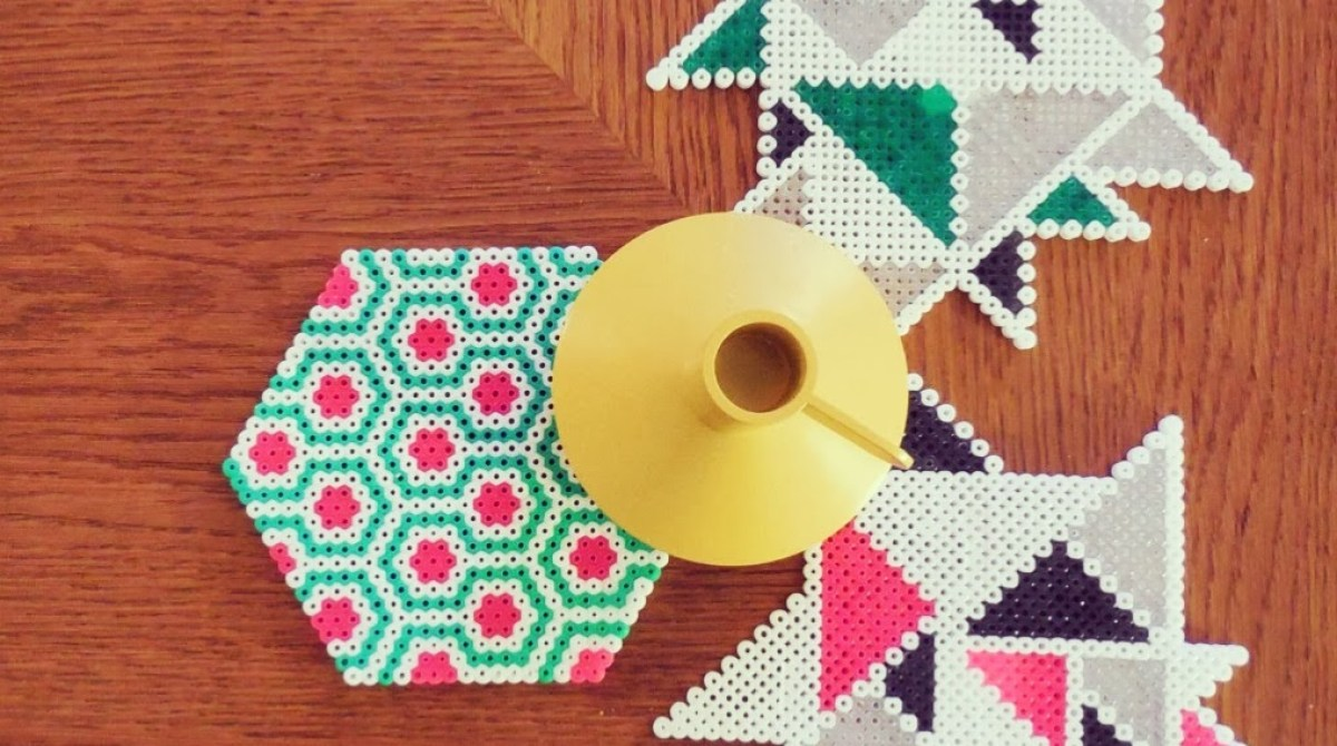Geometric Perler Bead Designs Make