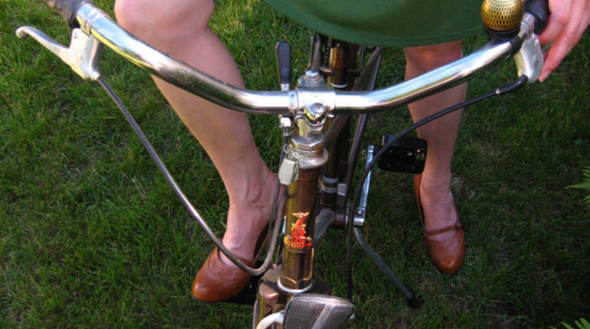 Skirt Garter Clip for Lady Cyclists