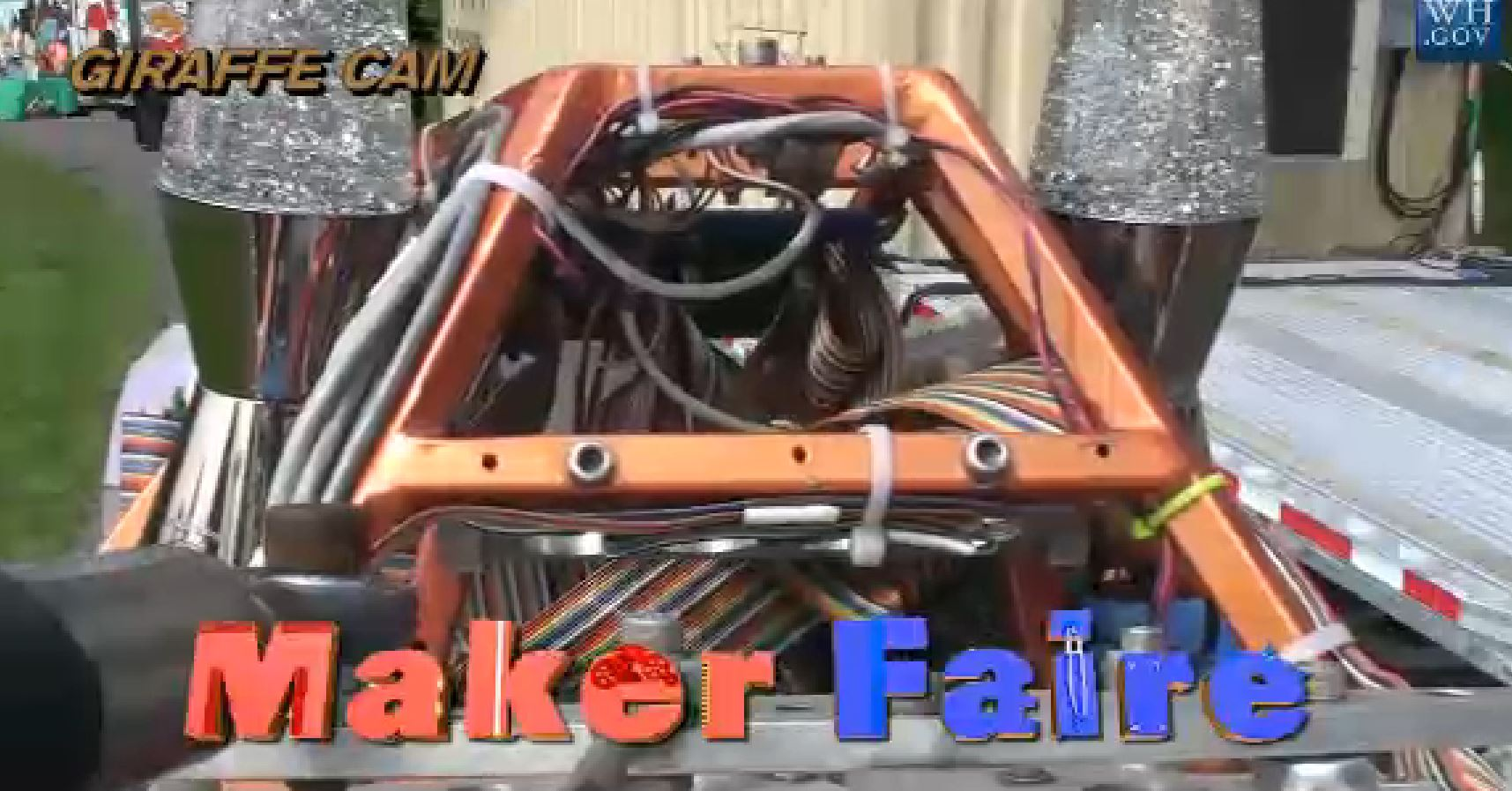 White House Maker Faire Live Stream Is Up!