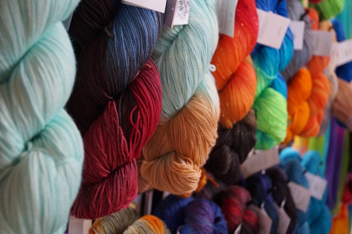 Incredibly Colored Yarns Spun By Nerds
