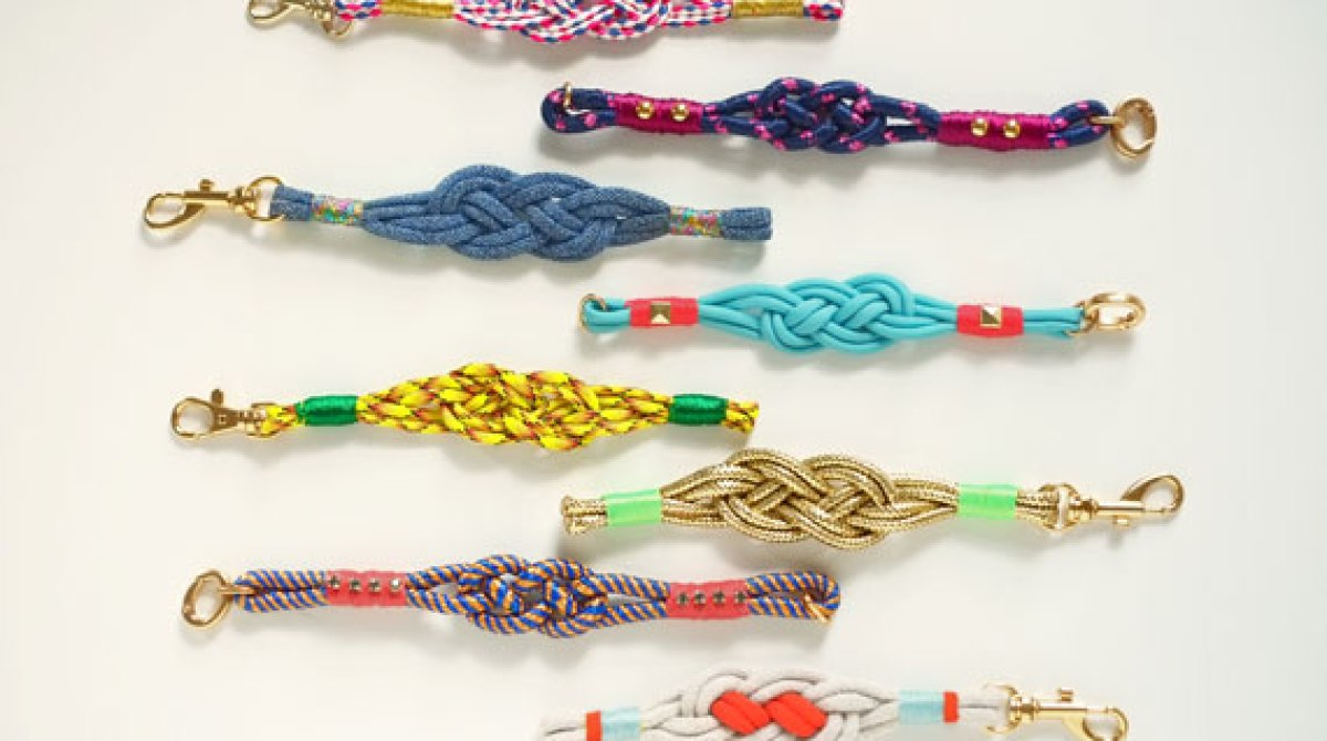 How-To: Nautical Knot Bracelets