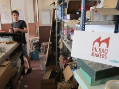 Bilbao Makers cites 60 members, with an estimated 20 regularly active