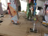 Paper dress up robot kits by Ultra-Ordinaire out of Toulouse, France