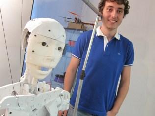 David Deza and Nera Calvo's in-progress InMoov open source robot