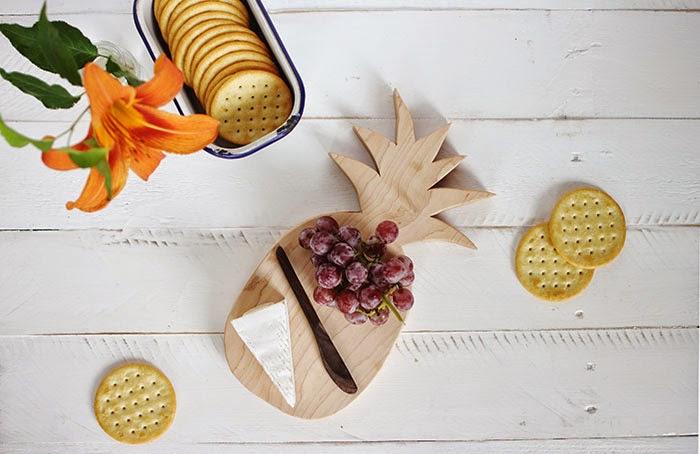 Making a Pineapple-Shaped Cutting Board