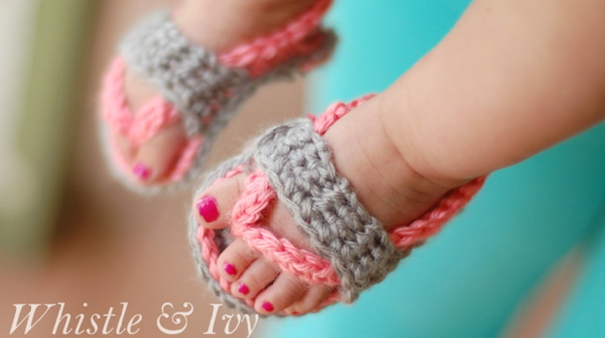 How-To: Crochet Sandals for Babies | Make: