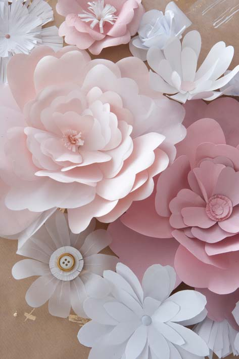 Paper Flower Roundup