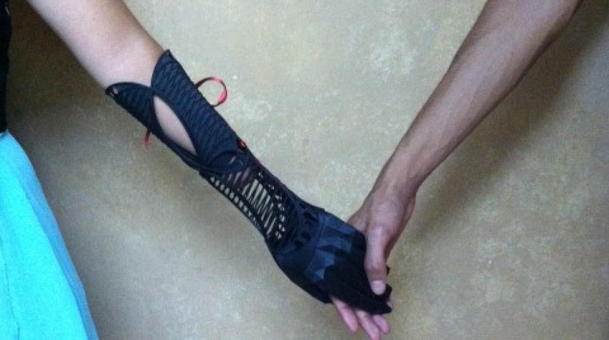 Gorgeous 3D Printed Prosthetic Born of Boredom