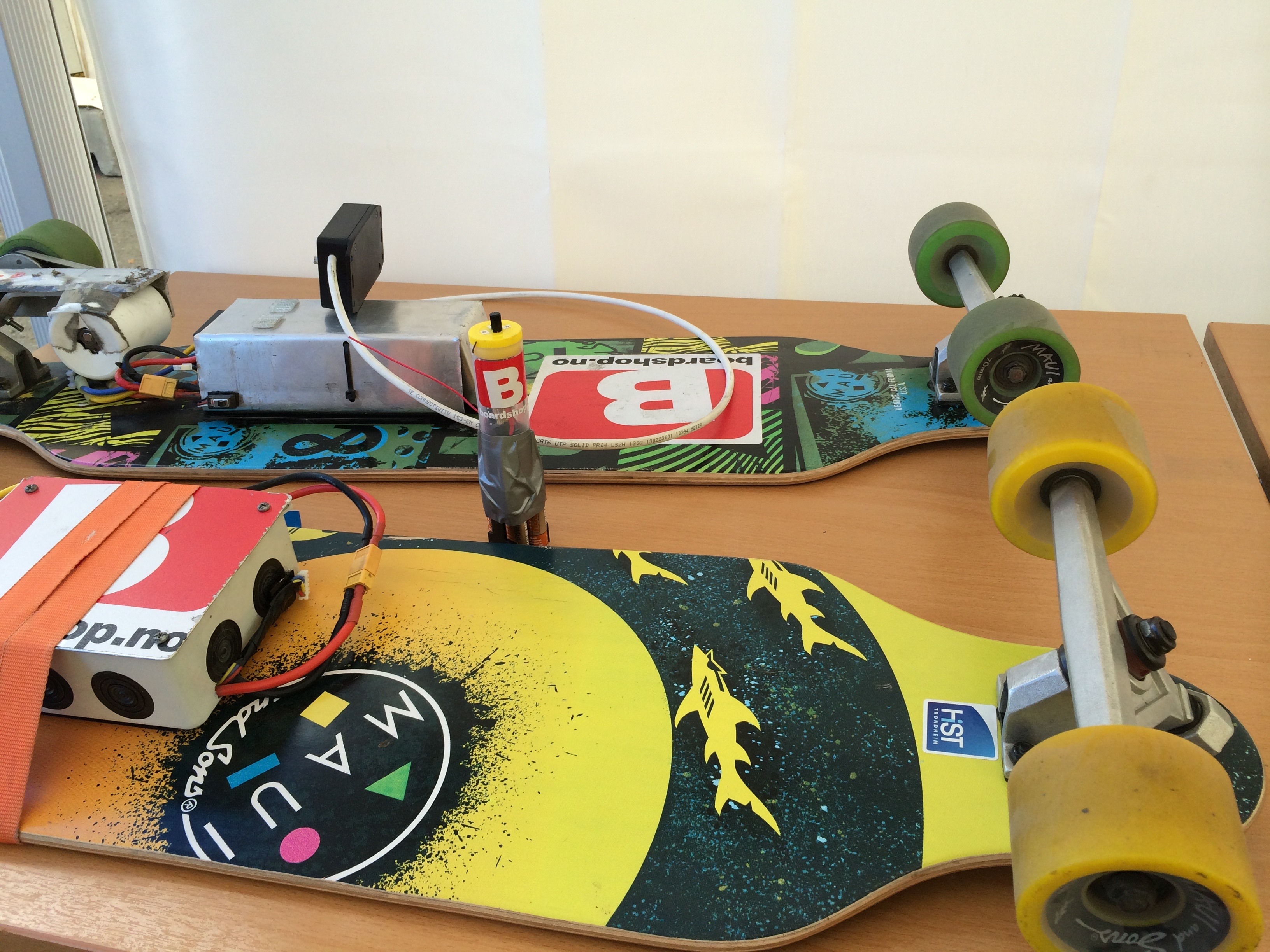 ROVs and Long Boards at Maker Faire Trondheim